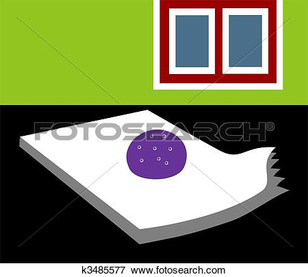 Stock Illustration of paperweight k3485577.