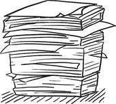 Paperwork 20clipart.