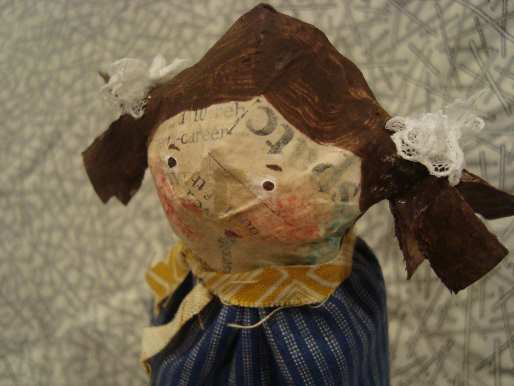 Paper Mache Doll Tutorial.