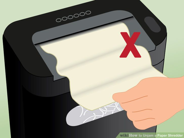 How to Unjam a Paper Shredder (with Pictures).