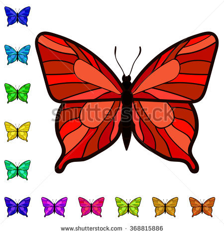 Orange Butterfly Clipart Stock Photos, Royalty.