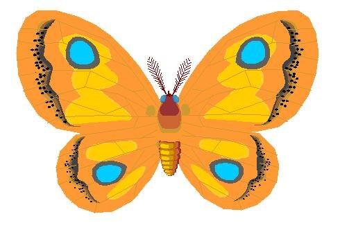 Papillon Clipart.