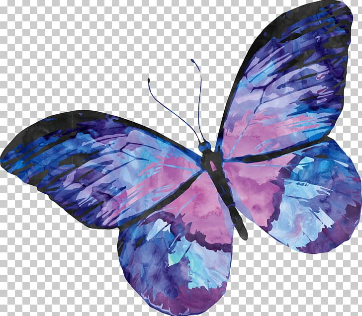 Papillon Dog Butterfly Watercolor Painting PNG, Clipart, Art.