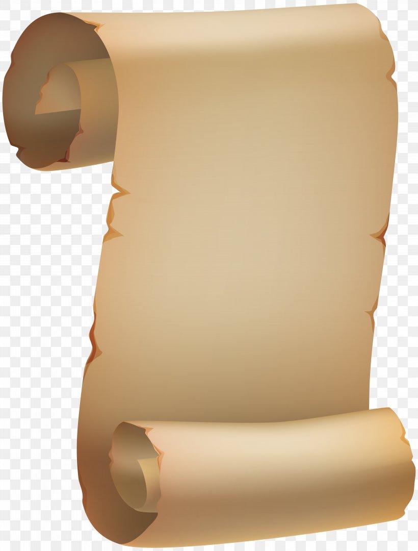 Paper Papyrus Scroll Parchment Clip Art, PNG, 6071x8000px.