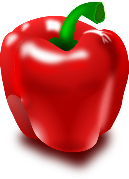 Red Pepper Clip Art at Clker.com.