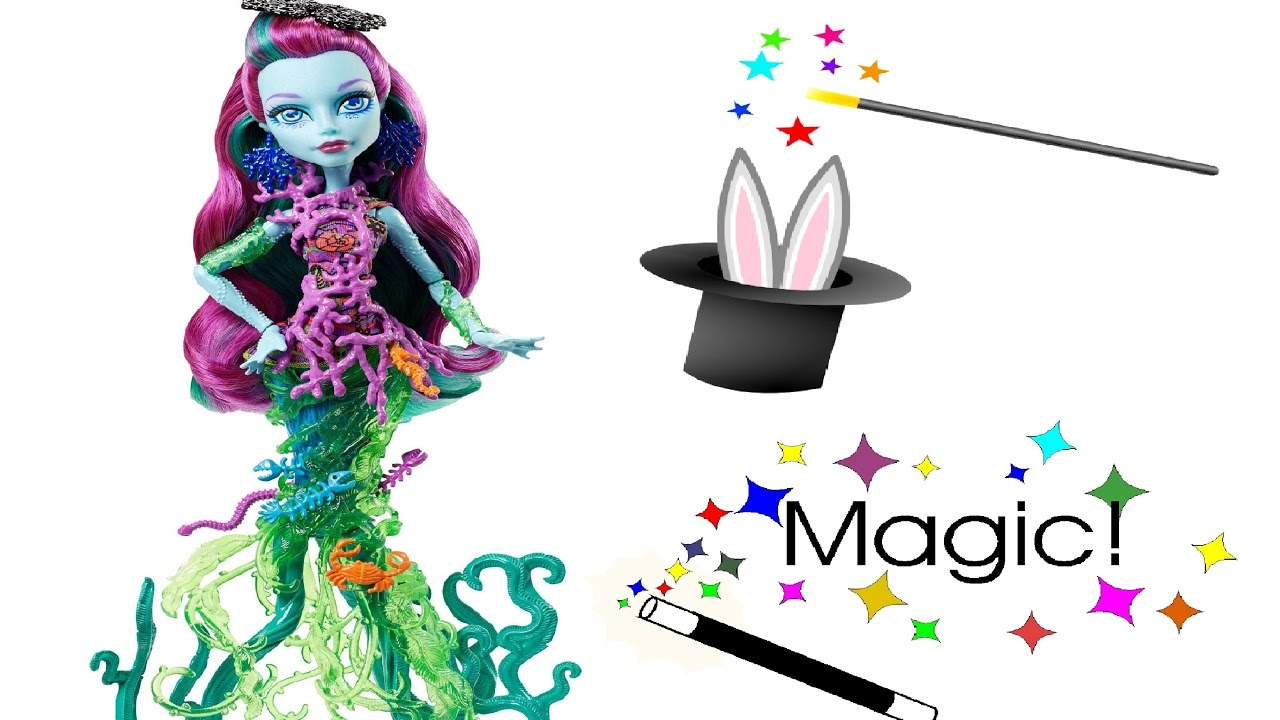 Papusa Monster High face magie.