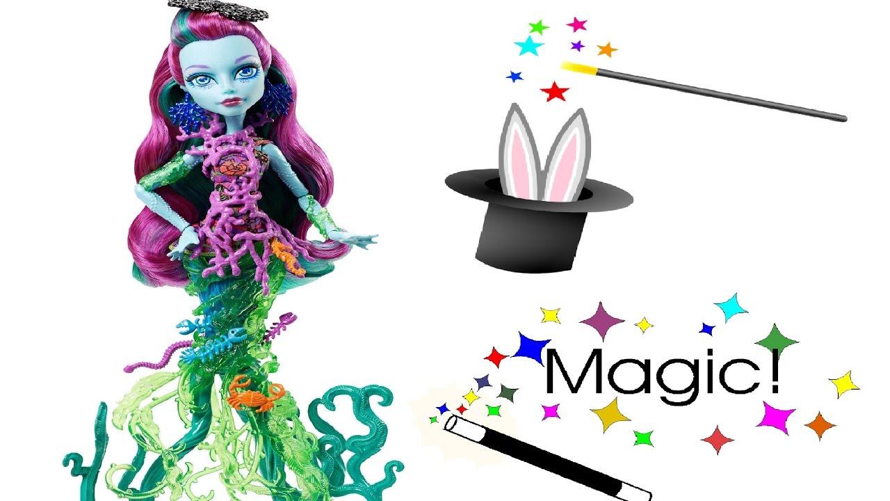 Papusa Monster High face magie.
