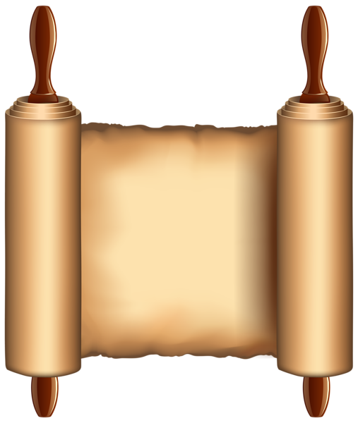Old Papyrus PNG Clip Art Image.