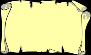 Papyrus Paper Clipart.