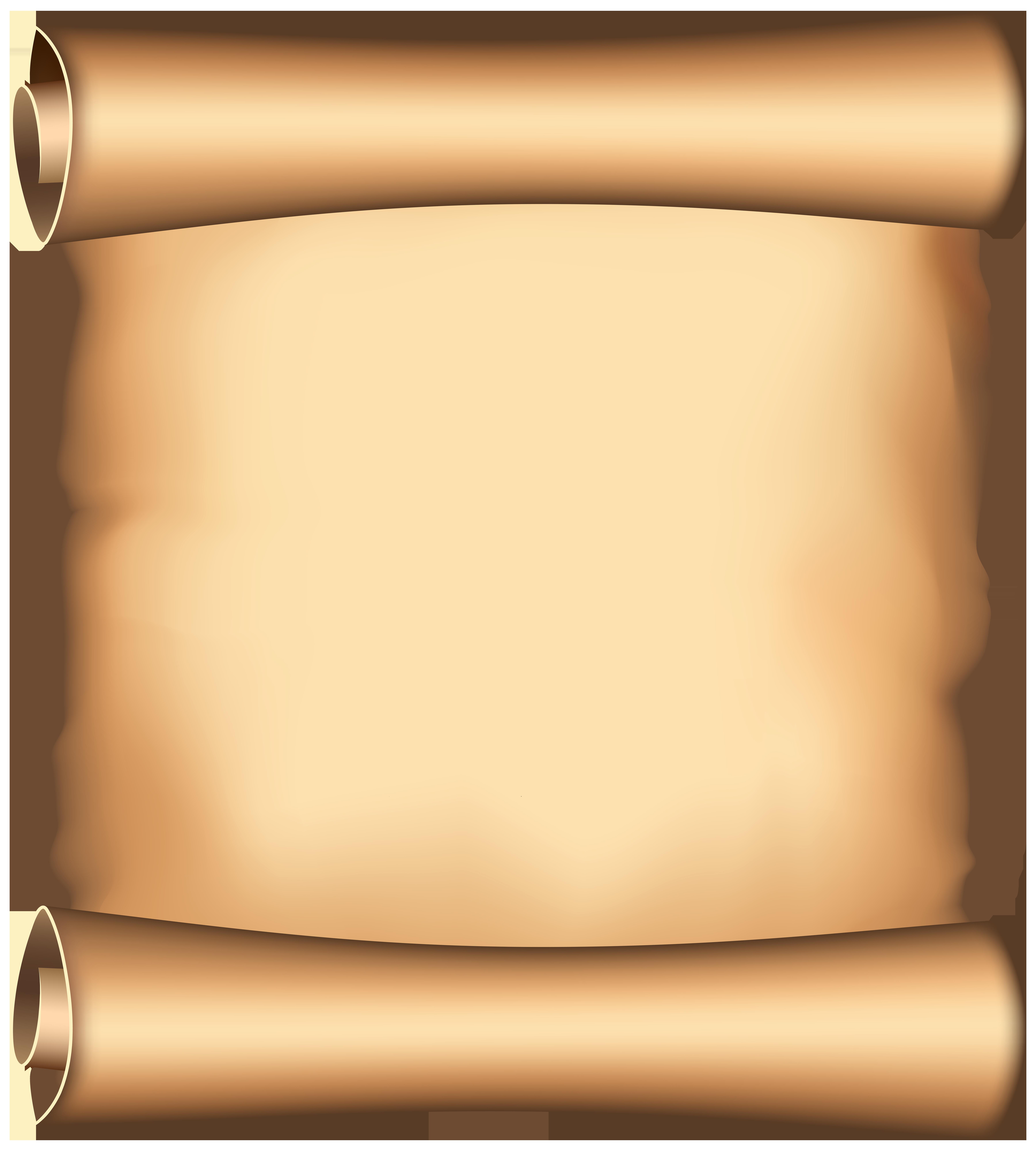 Papyrus PNG Clip Art Image.