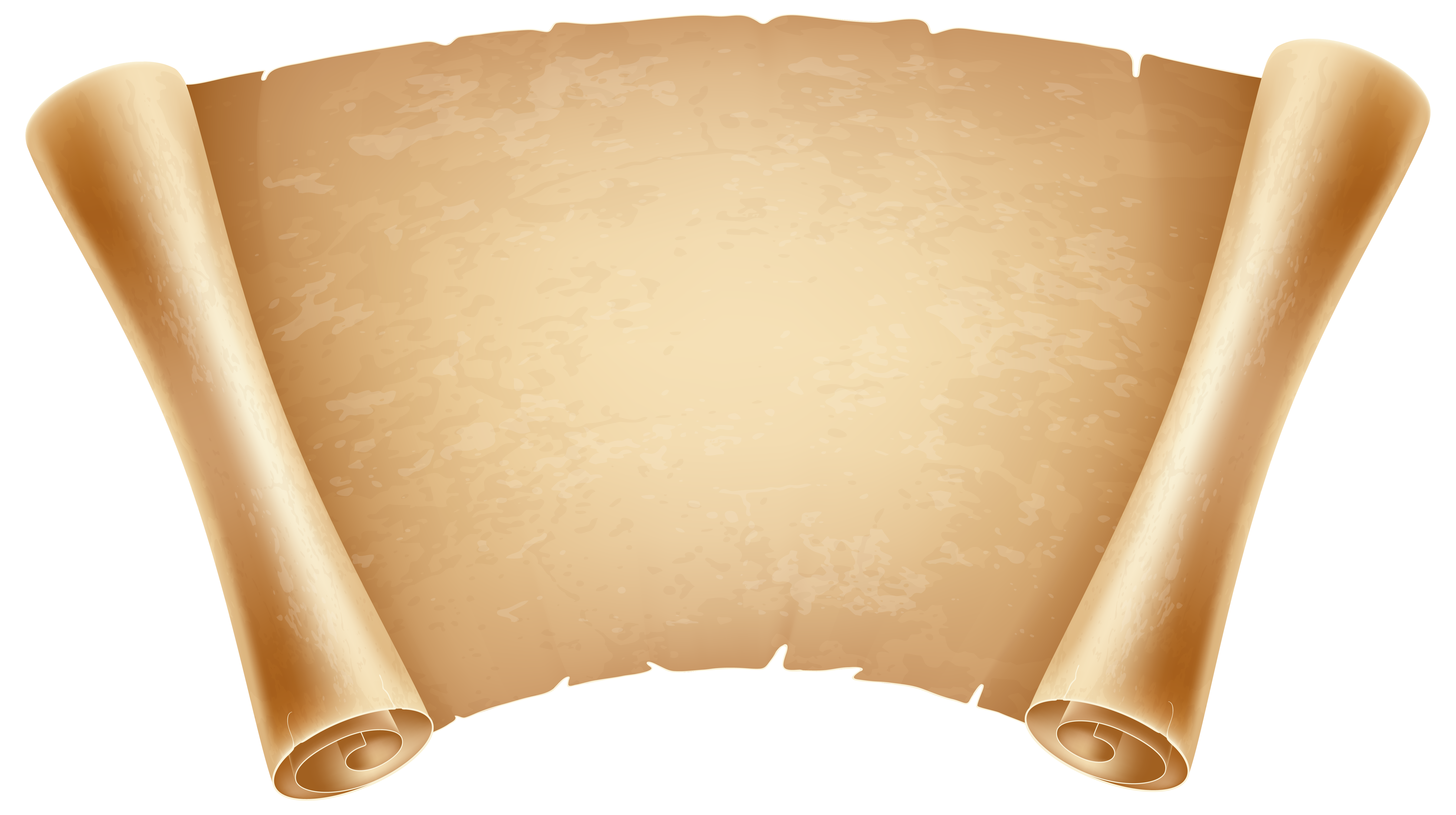 Papyrus Decorative PNG Clipart Image.