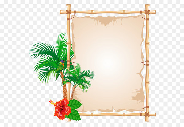 Picture frame Bambusodae Clip art.
