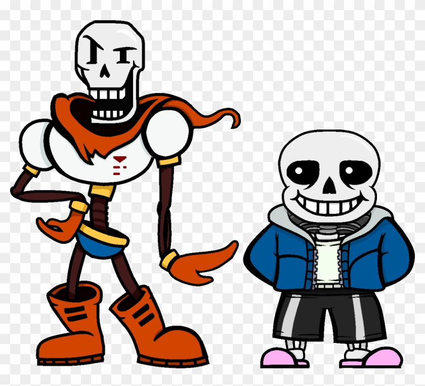 Papyrus And Sans Finally Reunited In Hd.