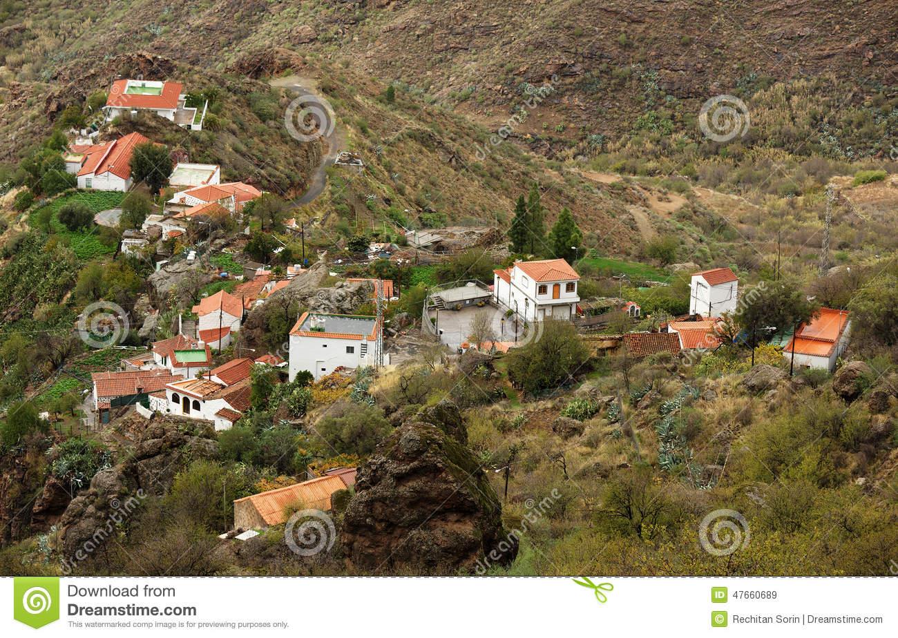 Parque Natural De Pilancones In Gran Canaria Stock Photo.