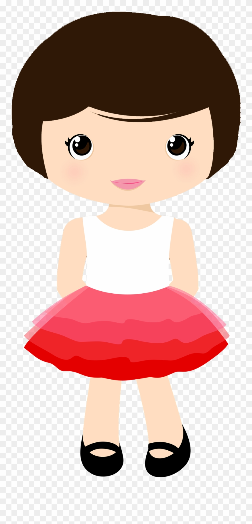 Menina Cute Clipart, Business For Kids, Doll Accessories.