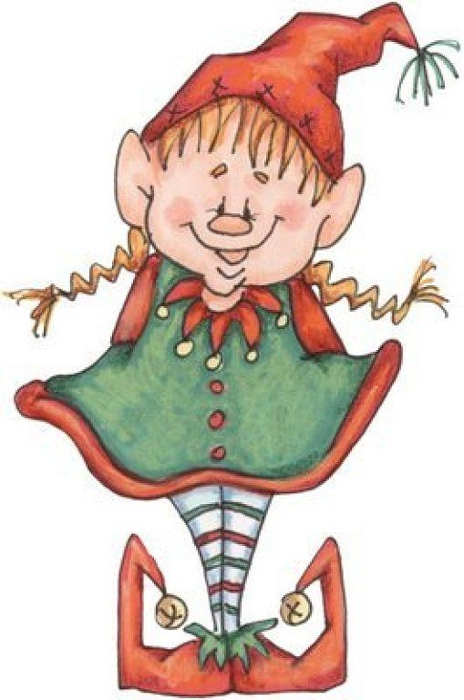 17 Best images about Christmas Elf Clipart on Pinterest.
