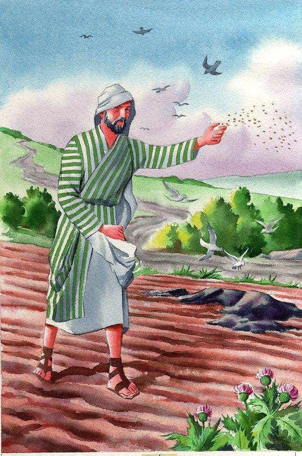 Parable of the sower clipart 5 » Clipart Portal.