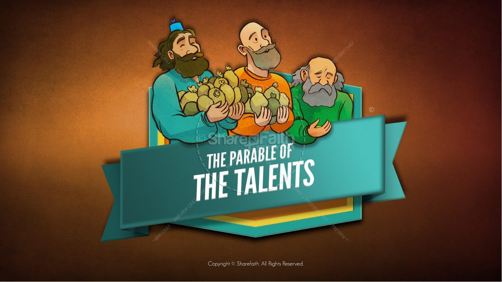 The Parable of the Talents Bible Video For Kids.