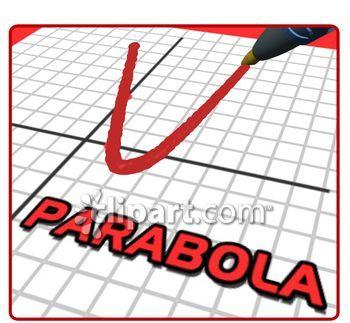 Parabola Clip Art.
