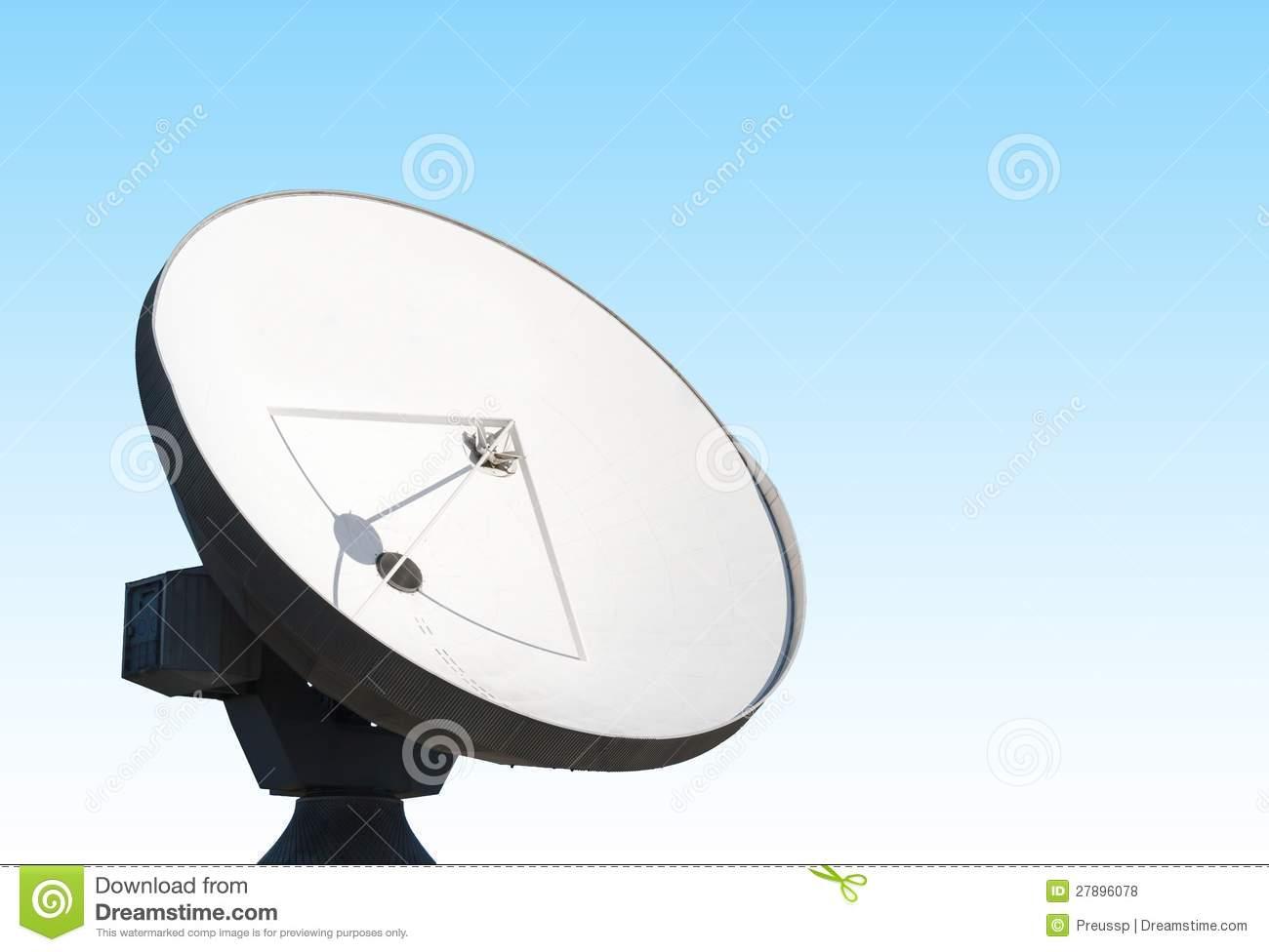 Parabolic Reflector Antenna Stock Images.