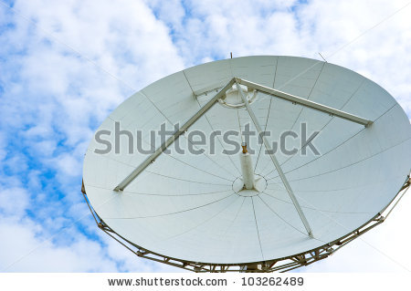 Parabolic Reflector Antenna Stock Photo 103262489.