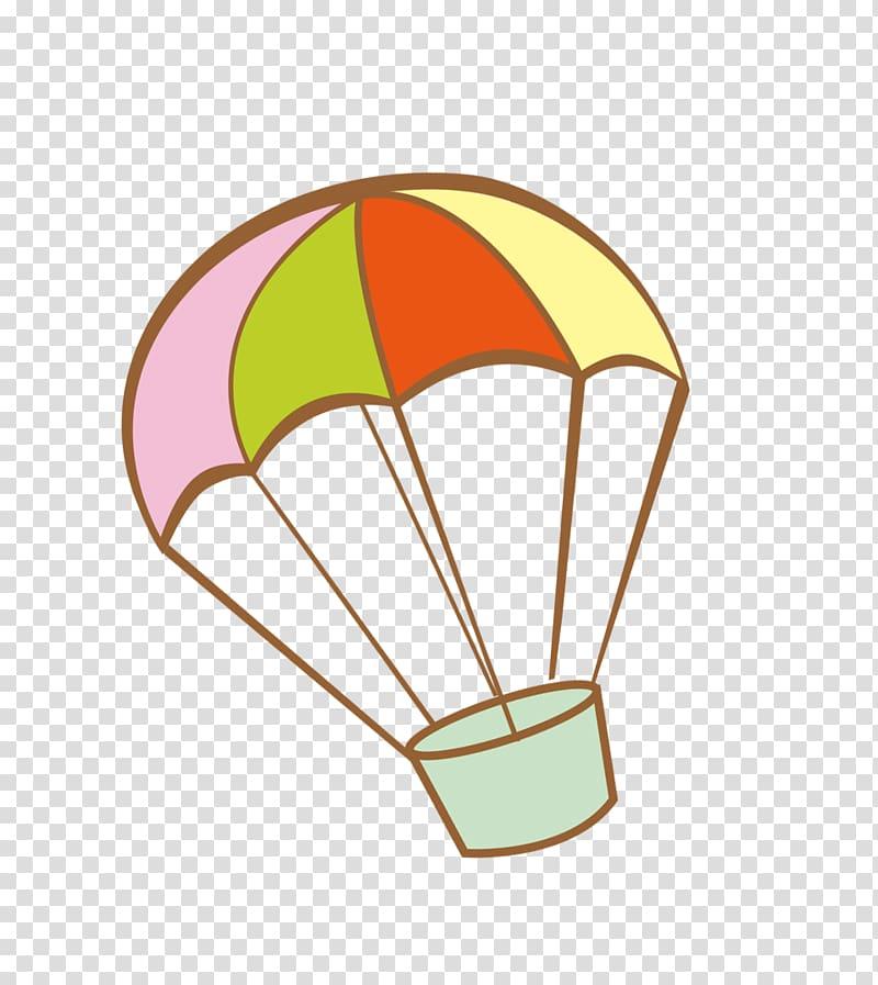 Parachute Icon, parachute transparent background PNG clipart.
