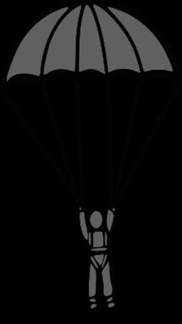 Parachute Clip Art.