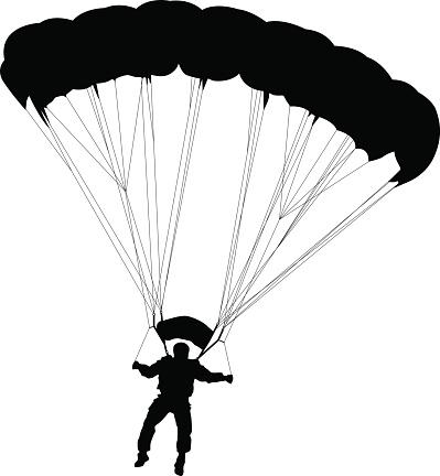 Parachute clipart - Clipground