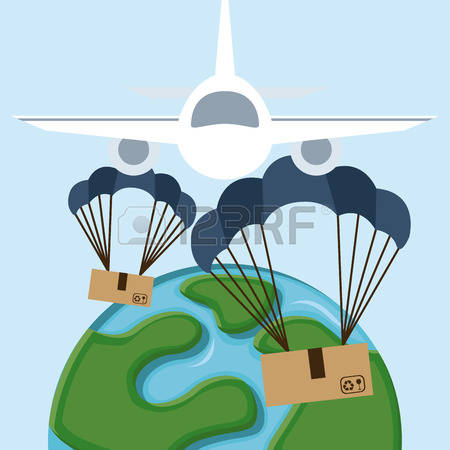 1,527 Parachute Fly Stock Vector Illustration And Royalty Free.