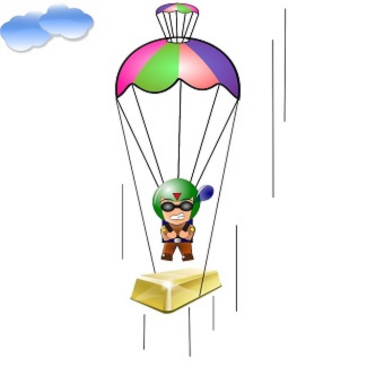 Line,Balloon,Parachuting Clipart.