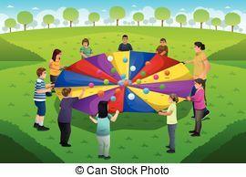 Parachute games clipart 2 » Clipart Portal.