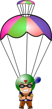 Vector parachute illustration free vector download (13 Free vector.