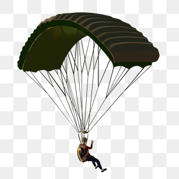 Parachute PNG Images.