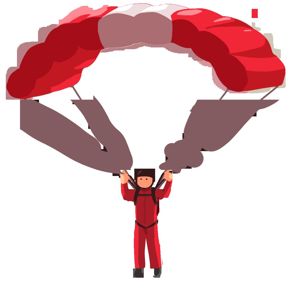 Parachute PNG Transparent Images, Pictures, Photos.