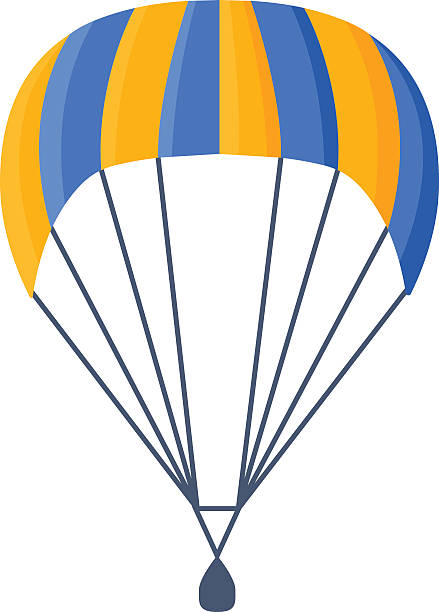 Parachute clipart.