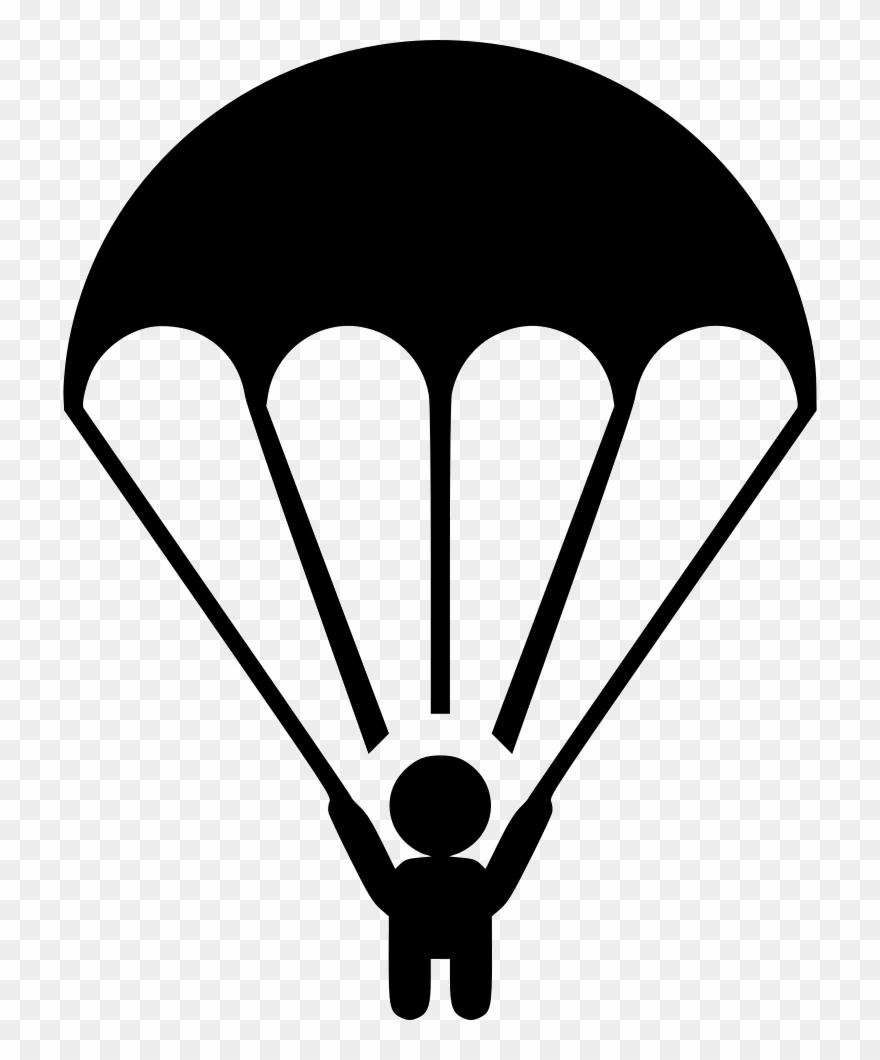 Parachute Clipart Svg.