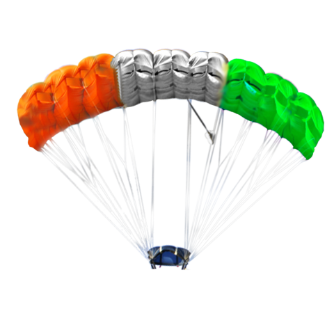 parachute tiranga 15 August PNG Images Transparent (74.