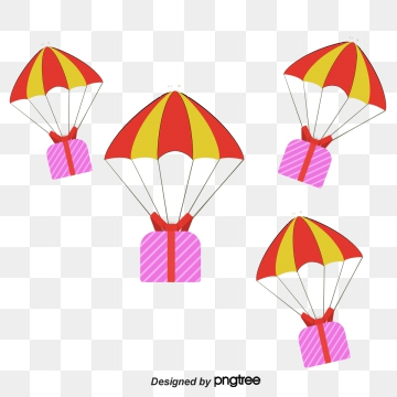 Parachute Vector Png, Vector, PSD, and Clipart With.