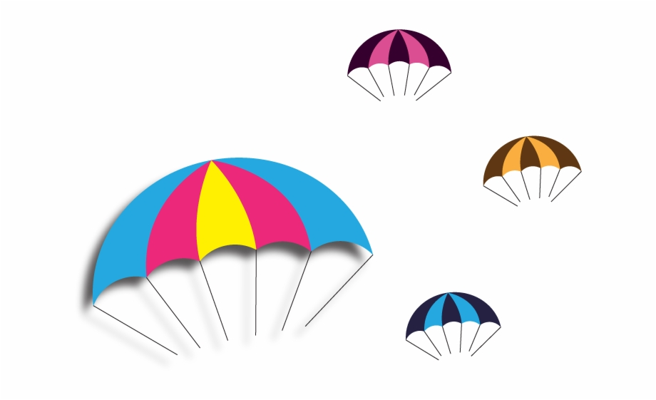Vector Parachute Free Png And Clipart.