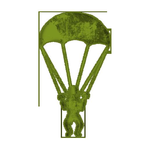 Parachutes clipart #14