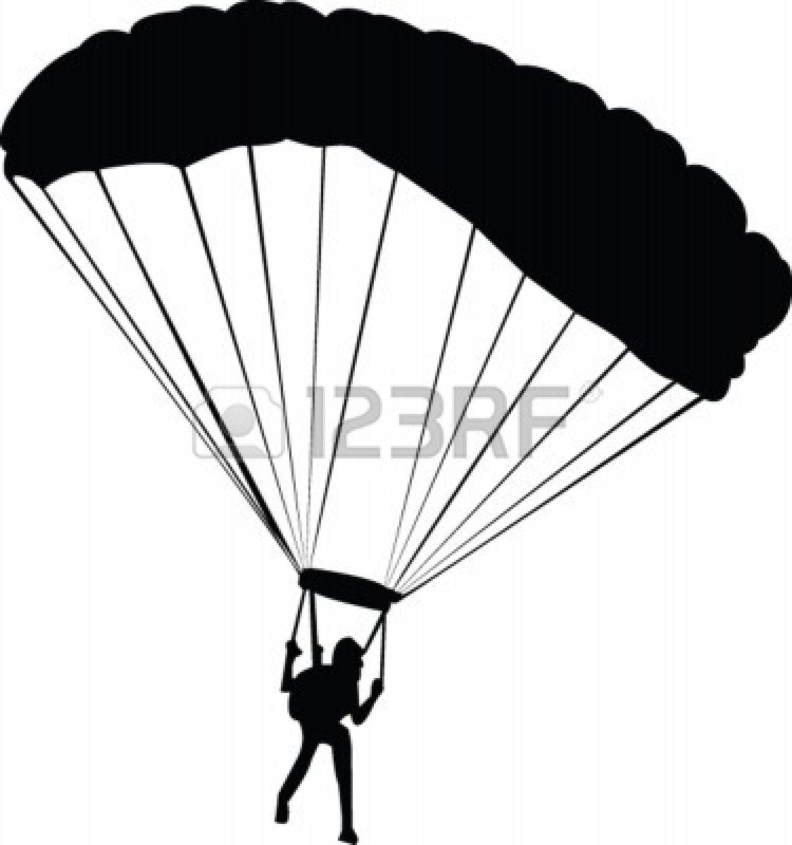 Paratrooper Clipart.