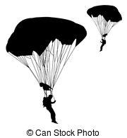 Parachutist Illustrations and Stock Art. 666 Parachutist.