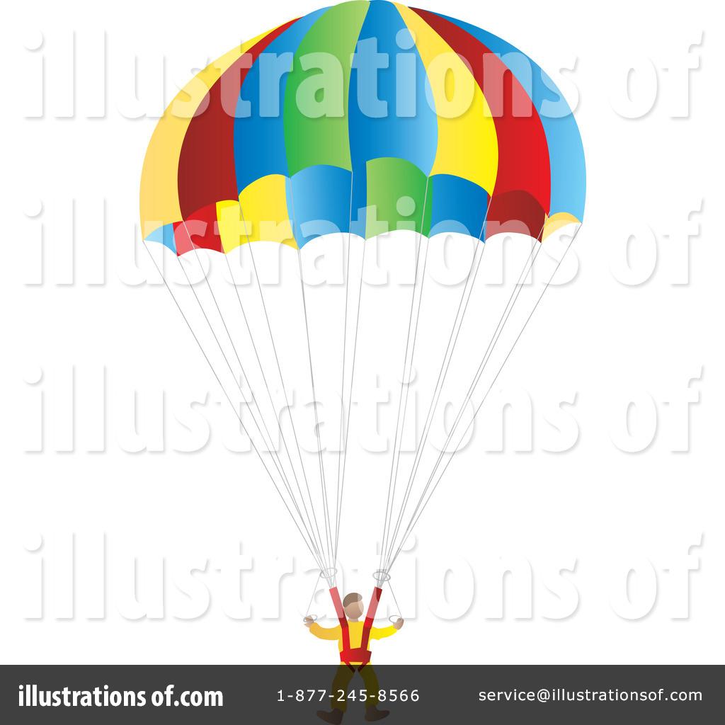 Parachute Clipart #33885.