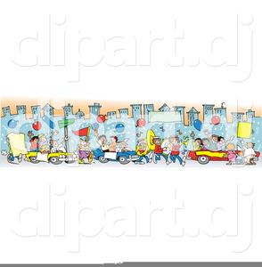 Mardi Gras Parade Clipart.
