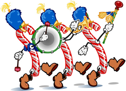 Christmas parade clip art.