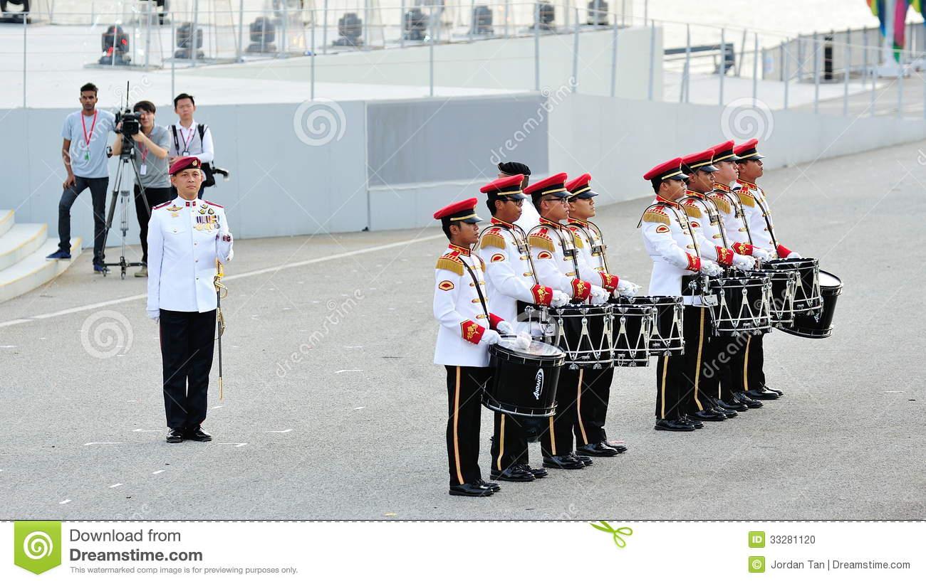 Parade Commander Editorial Photo.