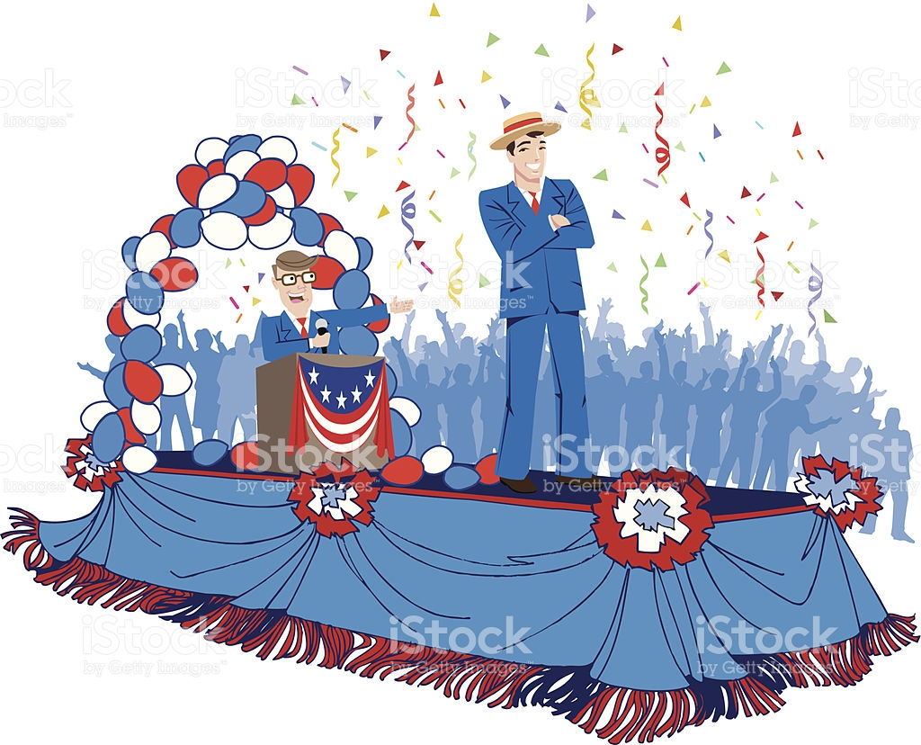 Parade Float C stock vector art 475441663.
