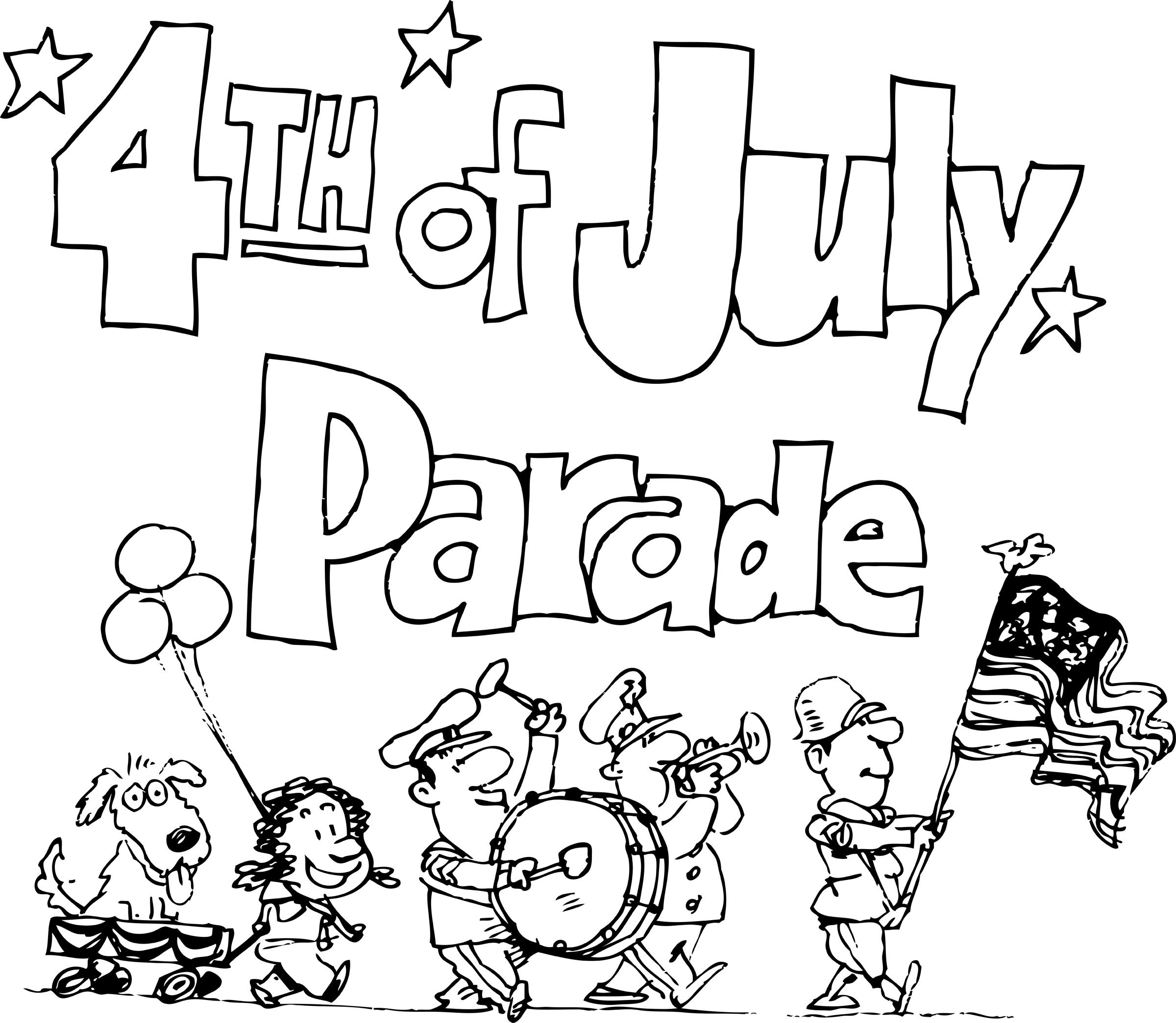 Parade clip art.