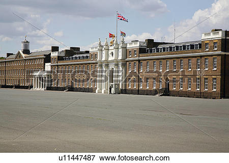 Picture of England, London, Woolwich. A view across the parade.