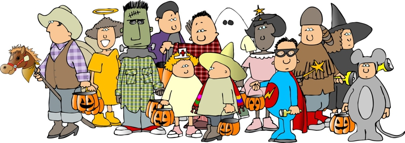 Halloween parade clipart 4 » Clipart Station.